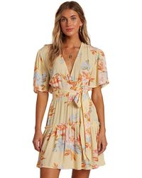 Billabong One And Only Dress amarillo - Multicolor