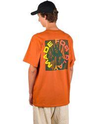 Paterson Made for Play T-Shirt naranja