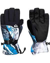Quiksilver Mission Gloves - Blau