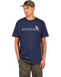 Paterson Pin Up Girl T-Shirt azul