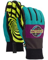 Burton Analog Bartlett Gloves verde