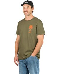 Stance Breather T-Shirt verde