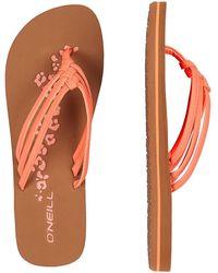 O'neill Sportswear 3 Strap Disty Sandals rosado - Naranja