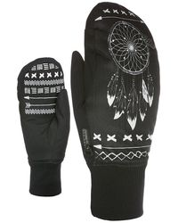 Level Bliss Coral Mittens negro