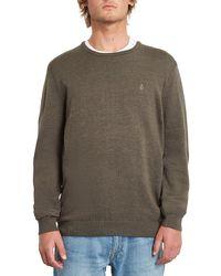 Volcom Uperstand pullover marrón - Gris