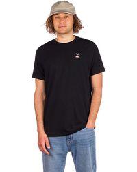 Tentree Palm Sunset Embroidery T-Shirt negro