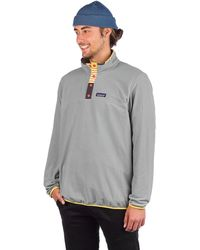 Patagonia Micro D Snap-T Sweater gris