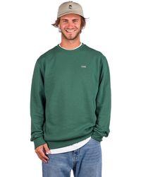 Vans Basic Crew Fleece Sweater verde