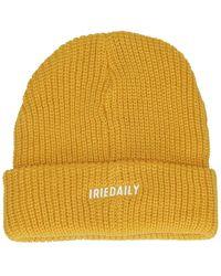 Iriedaily Shelter Heavy Beanie amarillo