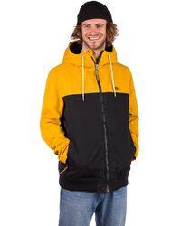 Kazane Arne jacket naranja - Negro