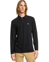 Quiksilver Conquet Long Sleeve Polo negro