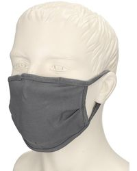 Zine Facecover Cloth Mask - Grau
