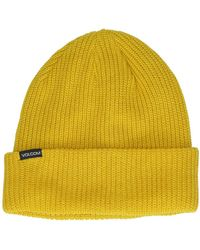 Volcom Polar Lined Beanie amarillo