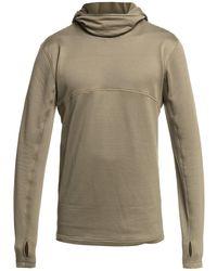 Quiksilver Steep point hooded fleece pullover marrón - Multicolor