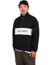 Blue Tomato Fleece Sweater negro