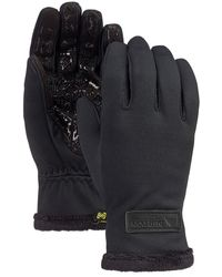 Burton Sapphire Gloves negro