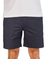 """Hurley Df chino 2.0 18"""" shorts negro"""
