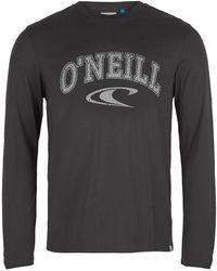 O'neill Sportswear State Long Sleeve T-Shirt - Grau