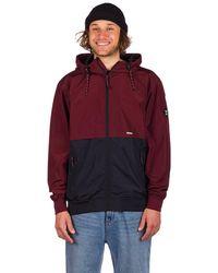 Iriedaily Resulaner jacket rojo
