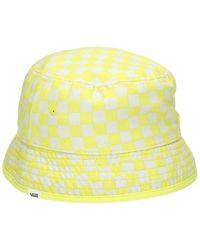 Vans Delux Hankley Bucket Hat estampado - Amarillo
