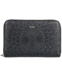 Roxy Back In Brooklyn Wallet negro - Gris