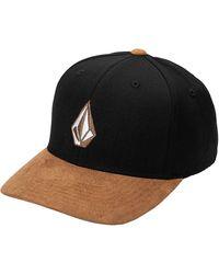 Volcom - Full Stone Hthr Xfit Cap negro - Lyst
