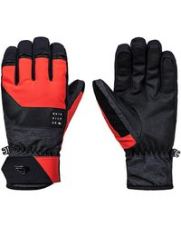 Quiksilver Gates Gloves rojo - Multicolor
