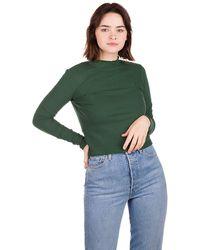 Kazane Sofia Long Sleeve T-Shirt verde
