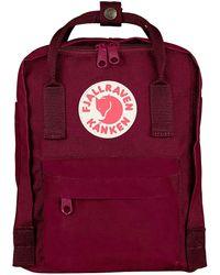 Fjallraven Kanken Mini Backpack - Rot