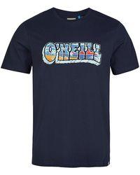 O'neill Sportswear - Oceans View T-Shirt - Lyst