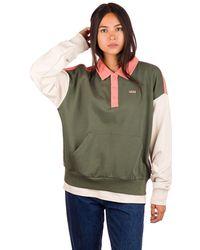 Vans Dylan polo fleece sweater verde
