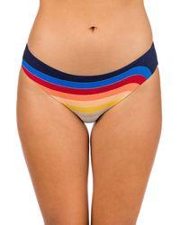 Rip Curl - Keep On Surfin Good Hip Bikini Bottom azul - Lyst