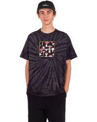 Primitive Fungy boy tie dye t-shirt tiedye - Negro