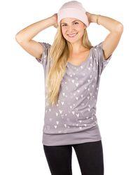 Kazane Hilde T-Shirt gris - Multicolor