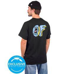 Odd Future X santa cruz screaming donut t-shirt negro