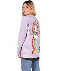 RIPNDIP Groovy Nerm Crewneck Sweater violeta - Multicolor