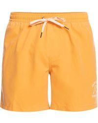 Quiksilver Surfwash Volley 15 Boardshorts rosado - Naranja