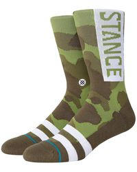 Stance OG Socks camuflaje - Verde