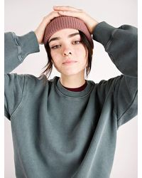 Carhartt WIP Nelson sweater verde - Gris