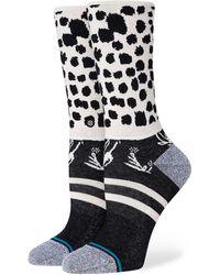 Stance Running Wild Crew Socks negro