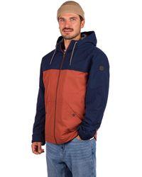 Quiksilver Waiting Period Jacket estampado - Azul
