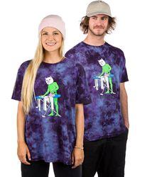 RIPNDIP Laundry Day T-Shirt tiedye - Azul