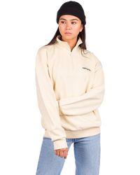 Carhartt WIP Typeface highneck sweater blanco - Neutro