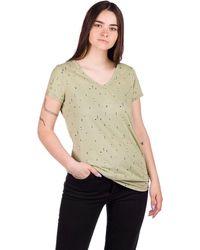 Kazane Ella T-Shirt verde - Multicolor