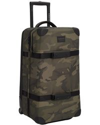 Burton Wheelie Double Deck Travel Bag camuflaje - Verde