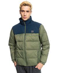 Quiksilver Wolfs shoulders td jacket verde