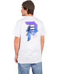 Primitive New peace t-shirt blanco