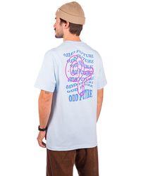 Odd Future Wavey text t-shirt azul