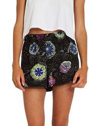 Volcom Coral Morph Shorts estampado - Negro