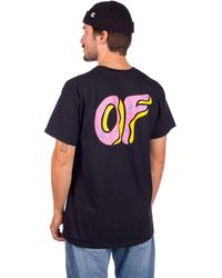 Odd Future Of donut t-shirt negro